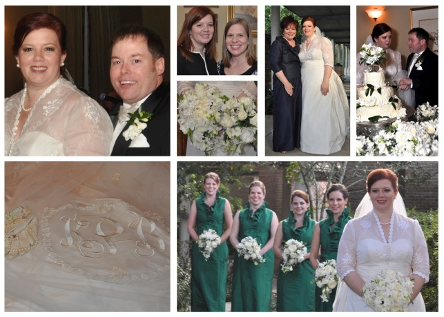 Kate & Paul wedding collage